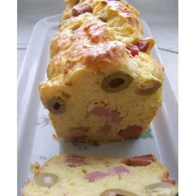Cake Aux Olives Et Lardons Rapide